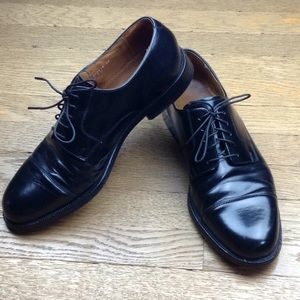 Cole Haan Black Leather Oxford Dress Shoes 8.5 D